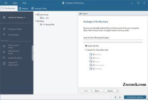 Auslogics File Recovery Key
