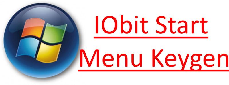 IObit Start Menu Keygen