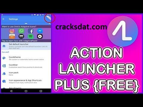 Action Launcher Crack